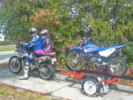 Small Motorbike Trailers Scooter Trailers Trail Bike